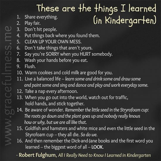 things_learned_kindergarten
